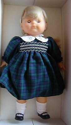 "Boxed Corolle Catherine Refabert vinyl doll. New in box. 17"" tall."
