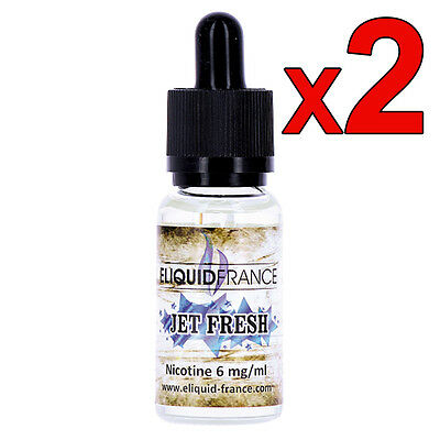 Jet Fresh - ELIQUID FRANCE - Lot de 2x20ml - DLUO dépassée