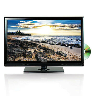 Axess TVD180124 Axess 24 In LED HDtv Features Vga HDmi SD USB Inputs, DVD Player