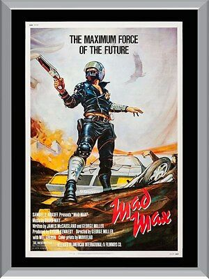 Mad Max Original Movie A1 To A4 Size Poster Prints