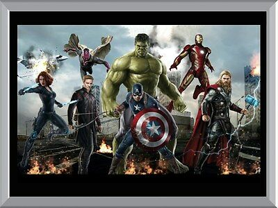 Avengers Team A1 To A4 Size Poster Prints