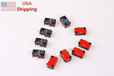 Micro Limit Switch V-15-1C25 15A 125/250VAC 10PCS