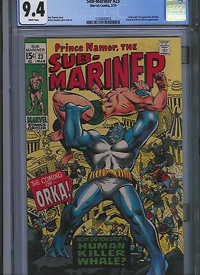 Sub-Mariner # 23 CGC 9.4  White Pages. UnRestored