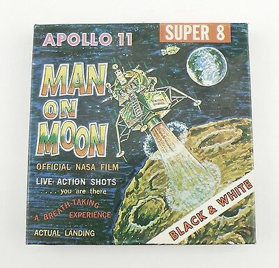 Vintage Super 8mm Film Apollo 11 Man On Moon Space