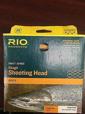 Rio Products: Skagit Series Shooting Head Spey *Assortment of sizes*