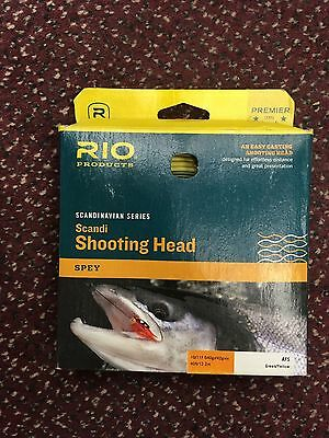 Rio Products Scandinavian Series Scandi Shooting Head Spey Line