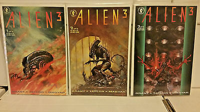 Alien 3 - #1 2 3 Complete Story Arc Dark Horse Comics Lot NM-