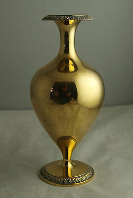 Superb German Sterling Silver Gilt Vase - 213g