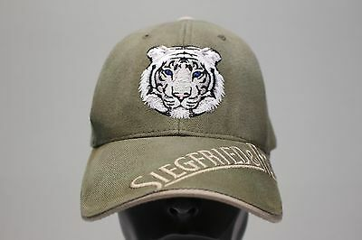 Siegfried & Roy - Mirage - Las Vegas - Adjustable Ball Cap Hat!