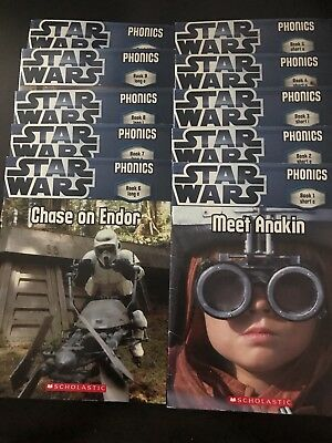 STAR WARS PHONICS READERS BOOKS BOOK LEVEL 1 or 2