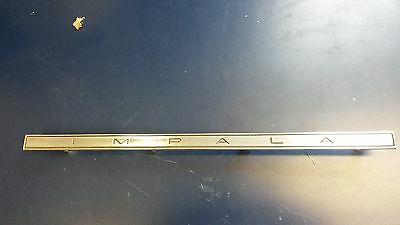 1965 Chevrolet impala glove box door emblem