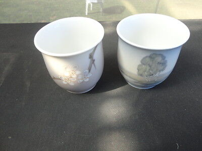 Two Bing & Grondahl Small Containers