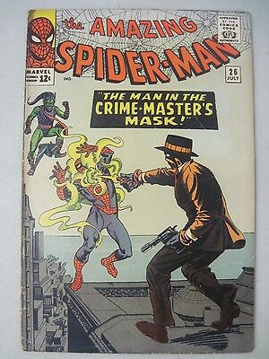 Amazing Spider-Man #26 July 1965 Marvel Comics The Green Goblin App. Steve Ditko