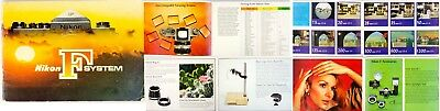 Nikon F System early catalogue (on Textured paper)