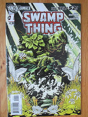 SWAMP THING #1 (DC New 52) Snider / Paquette * 2011