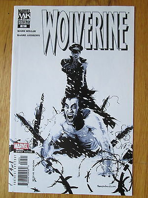 WOLVERINE #32 * Black and White Variant * Milar / Andrews * 2005