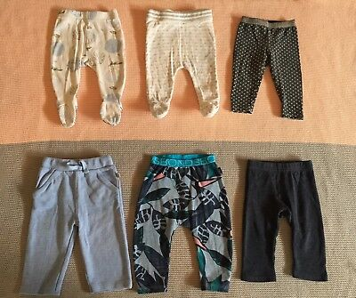 Baby Boy Mixed Pants Leggings Size 00 Country Road Wilson & Frenchy Bonds