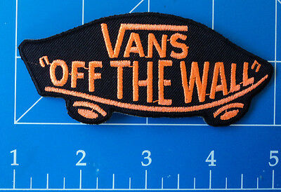 Vans Off The Wall Orange Patch, Dress Up Yo Raggedy Ass!