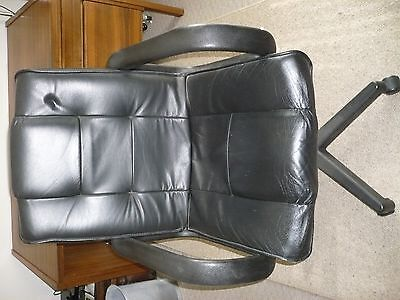 Home/office Leather swivel chair