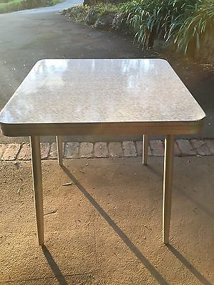 Vintage Retro Table with laminate top