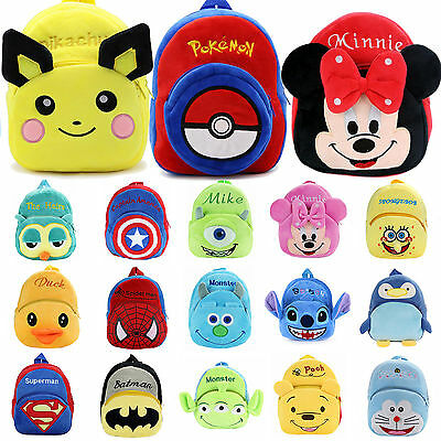 Baby Girls Toddler Mini Animal Backpack Kindergarten Schoolbag Kids Shoulder Bag