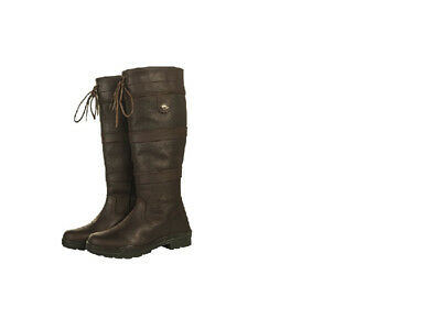 HKM Belmond Reg/Wide Oiled Leather Country Horse Riding Yard Boots FREE DELIVERY