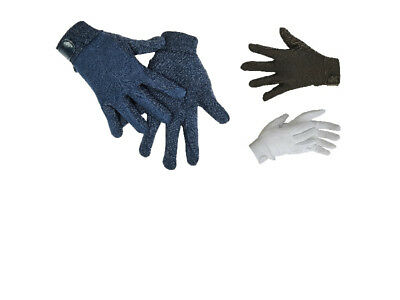 Hkm Super Riding Gloves Showing Dressage Jumping Horse Equestrian Free Delivery