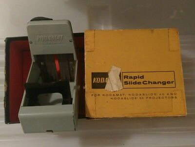 Kodak Rapid Slide Changer Kodamat Kodaslide 40 & 50 projector Vintage collectabe