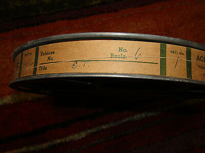 35 mm Very Rare Vintage Hollywood ET The Extra Terrestrial Movie Film Reel #6