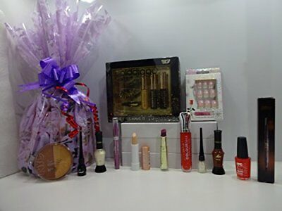 17pc Make Up Gift Hamper Gift Wrapped Gift Set Mix Brands ~ Further Reduced To