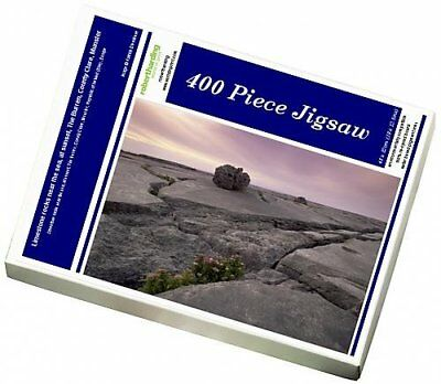 Photo Jigsaw Puzzle of Limestone rocks near the sea, at sunset, The Burren,