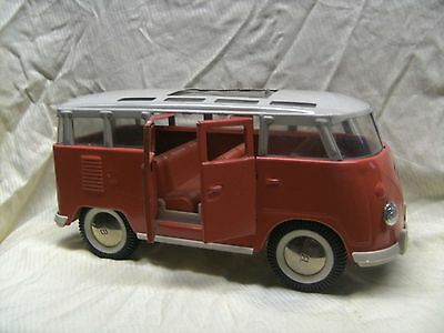 superseltener VW Bus Sambabus Made in USA ca 27 cm Buddy L