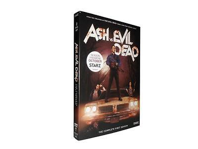 Ash vs. Evil Dead - The Complete First Season 1 (DVD, 2016, 2-Disc Set)