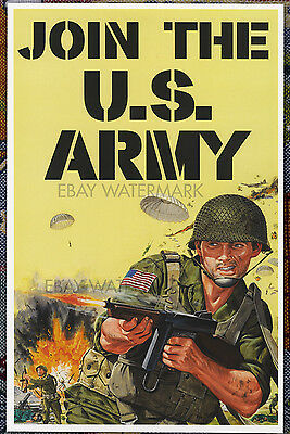 Join the U.S. Army Vintage Advertising Poster 11 x 17