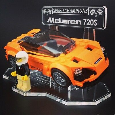 Display Stand For LEGO Speed Champions: Mclaren 720s (75880)