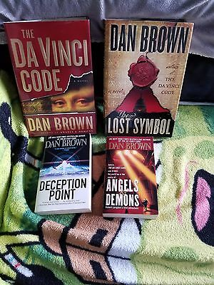 Mixed Lot (4) DAN BROWN Books - New