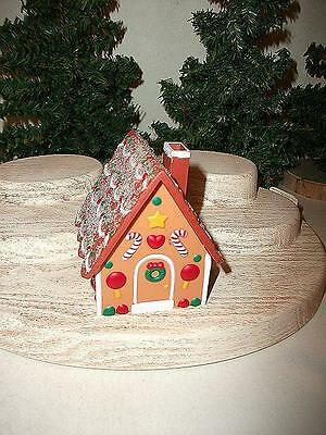 Hallmark Gingerbread House Trinket Box Container Xha3699 Merry Miniature Ws