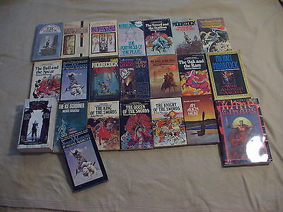 Lot of 8 Michael Moorcock Books - Listings in description