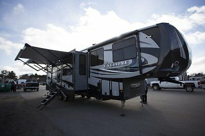 New 2018 Cyclone 3600 Toy Hauler Buy Now and Receive 25,000 off