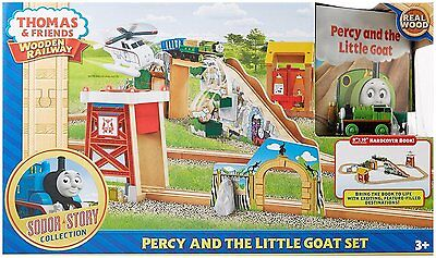 Thomas & Friends Wooden Railway Percy and the Little Goat Set