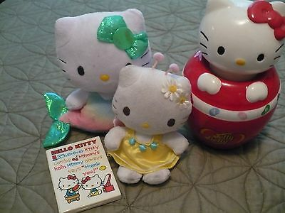 Hello Kitty Lot- Includes COOKIE Jar - Older Toys