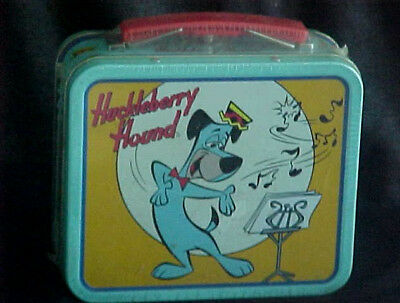 Hanna-Barbera Huckleberry Hound Mini Miniature Lunch Box METAL, 1999*SEALED NBO*