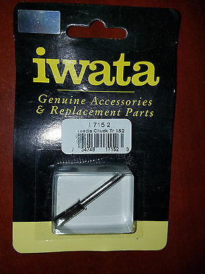 IWATA Needle Chuck Nut C//BE//ECL//REV I 120 2 NEW airbrush accessories I1202