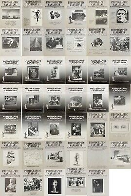 Photographic Canadiana Magazine 41 issues.