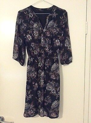 Beautiful floral dress size 10-12