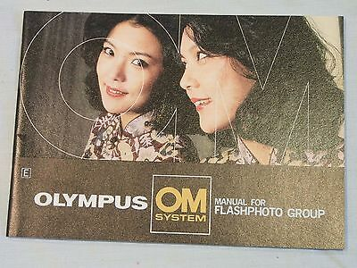 Olympus OM System Instruction Manual for Flashphoto Group