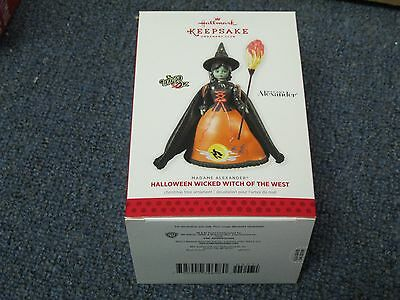 HALLMARK Halloween Wicked Witch of the West Madame Alexander Ornament NEW IN BOX