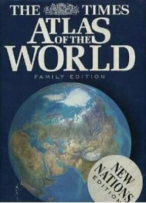 Times Atlas of the World by No author stated Hardback Book The Cheap Fast Free