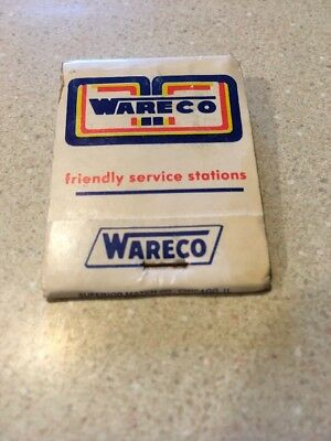 Ware Co Service Station Matchbook Cover