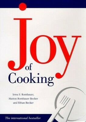 The Joy of Cooking by Marion Rombauer Becker Hardback Book The Cheap Fast Free